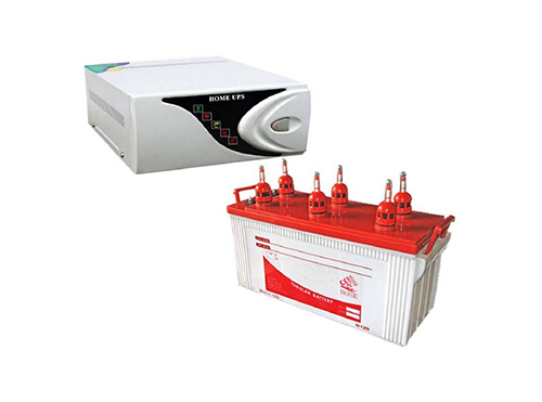 Single battery inverter